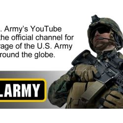 The U.S. Army's YouTube Channel