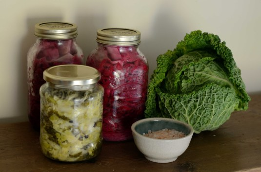 cabbage and vegetable fermentation