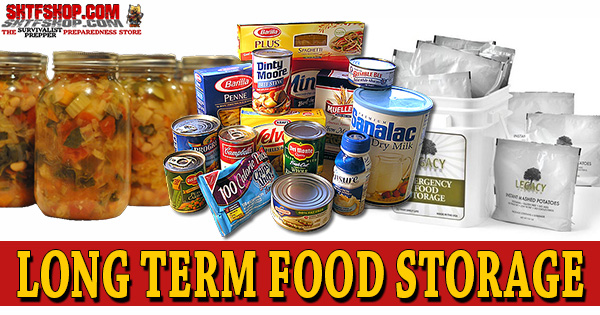 Long Term Food Storage Techniques u0026 Ideas  sc 1 st  Survivalist Prepper : long term storage of water  - Aquiesqueretaro.Com