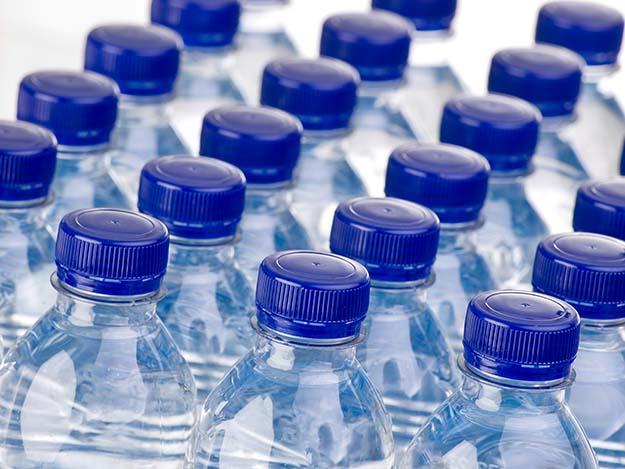 Bartering Chips Four Water Bottles