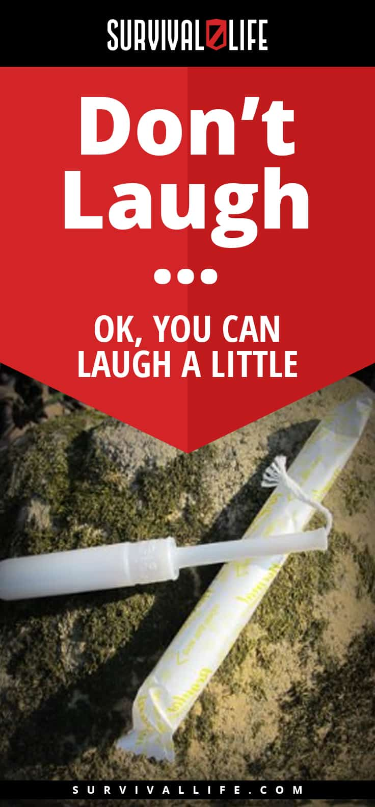 Tampon | Don't Laugh... Ok, You Can Laugh A Little