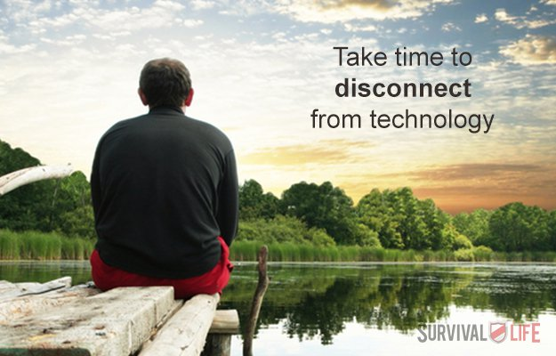 You're Not Taking One Day a Week to be Free From All Electronics   SURVIVAL TIPS: Things You're Not Doing That Will Bite You In The Ass   Outdoor Survival Skills