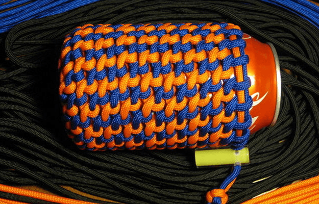 Woven DIY Paracord Koozie How To