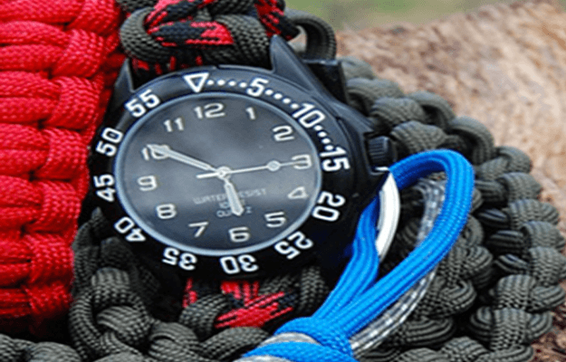 DIY Paracord Watchband | Cool Survival DIY Ideas