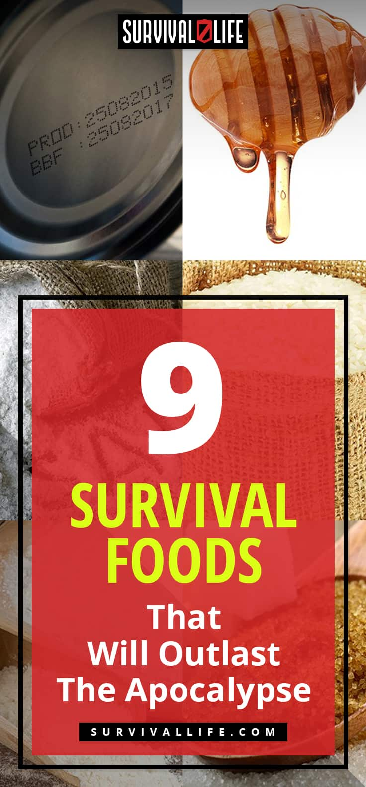 Survival Food Items That Will Outlast The Apocalypse | https://survivallife.com/survival-food-outlast-apocalypse/