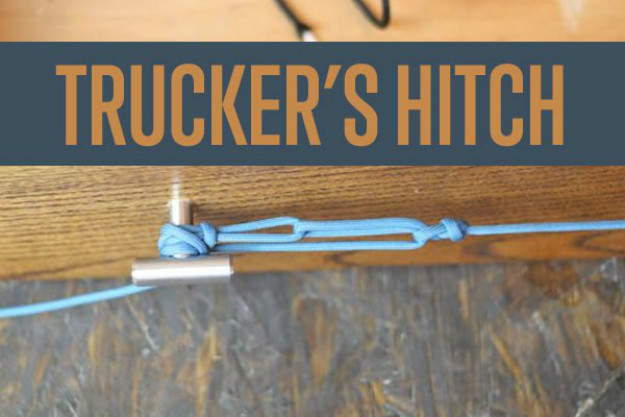 The Trucker's Hitch | Paracord Knots and Hitches | How To Make Paracord Hitches