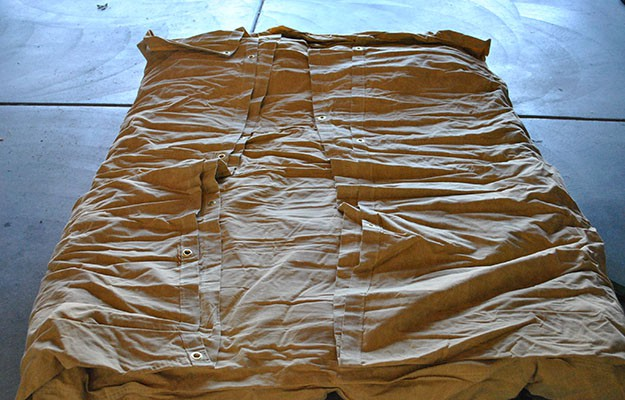 Fold bedroll   Cowboy Bed Roll Instructions For Comfortable Camping