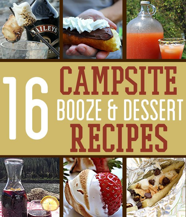 Camping Desserts and Cocktails… And We're Not Talking Molotov   https://survivallife.com/campsite-desserts-cocktails/