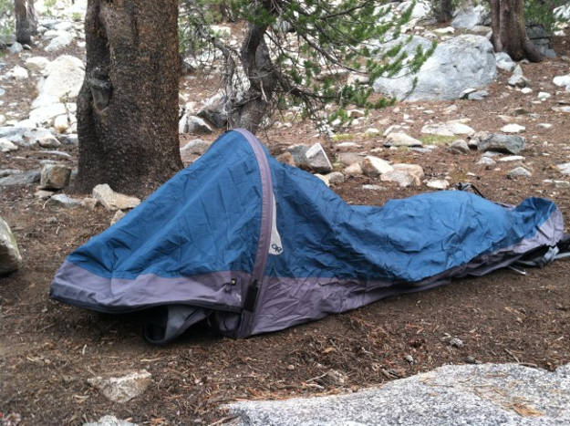The Bivy Sack or Tent | 25 Winter Bug Out Bag Essentials You Need To Survive
