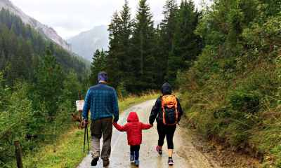 Feature | Family walking together | Family Preparedness: What Are Your Survival Principles?
