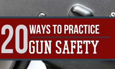 20 Firearm Safety Tips by Survival Life at http://survivallife.com/2015/05/11/20-firearm-safety-tips/