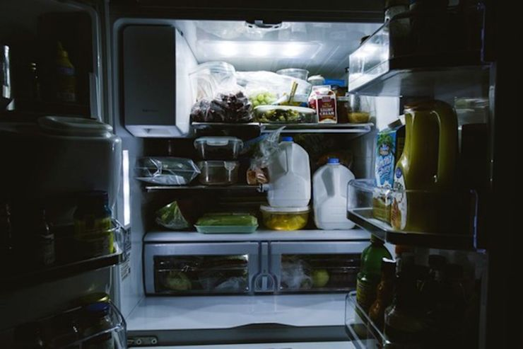 Full supply of food in refrigerator | Power Outage: What To Do When The Power Goes Out