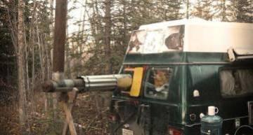 Man Survives Winter in Camper Van