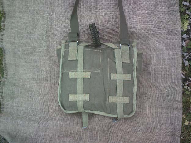 Straps | Make a Polish Army Bread Bag Kit