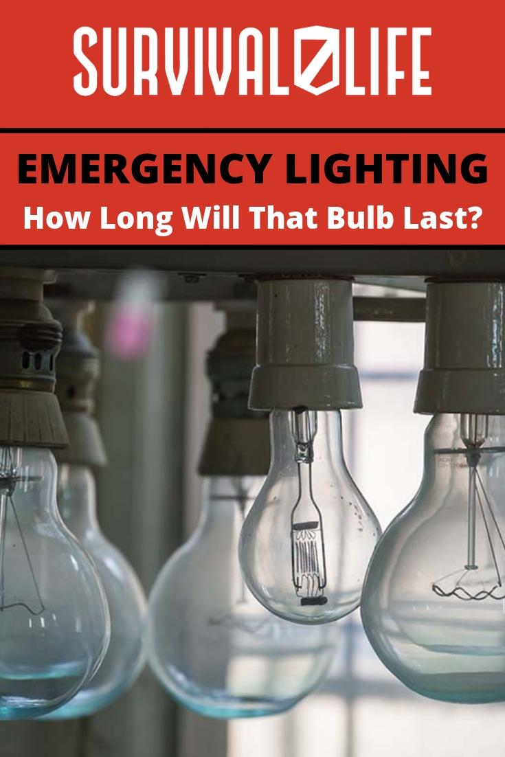Placard | Emergency Lighting | How Long Will That Bulb Last? | Home Emergency Lights