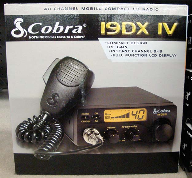 Figure 3 - Cobra 19 DX IV mobile CB transceiver | Emergency Radio Communication Plan For Disasters