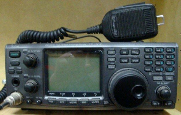 ICOM IC-910 satellite transceiver. (Photo courtesy of MCHS ARC.) | Emergency Radio Communication Plan For Disasters