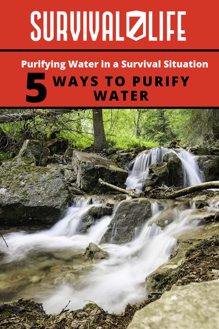 Check out Purifying Water in a Survival Situation at https://survivallife.com/survival-purifying-water/