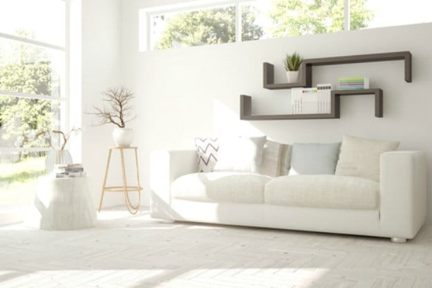 Put Smooth White Fabric Covers On Your Furniture | Ways to Keep Your House Cool During The Summer