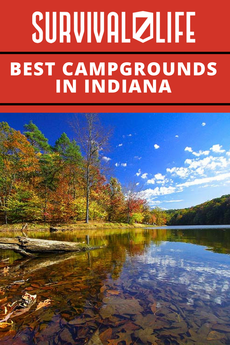 Infographic | best campgrounds in indiana