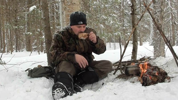 Enjoy Your Hot Cup of Coffee!   How To Make Fire On Top Of Deep Snow