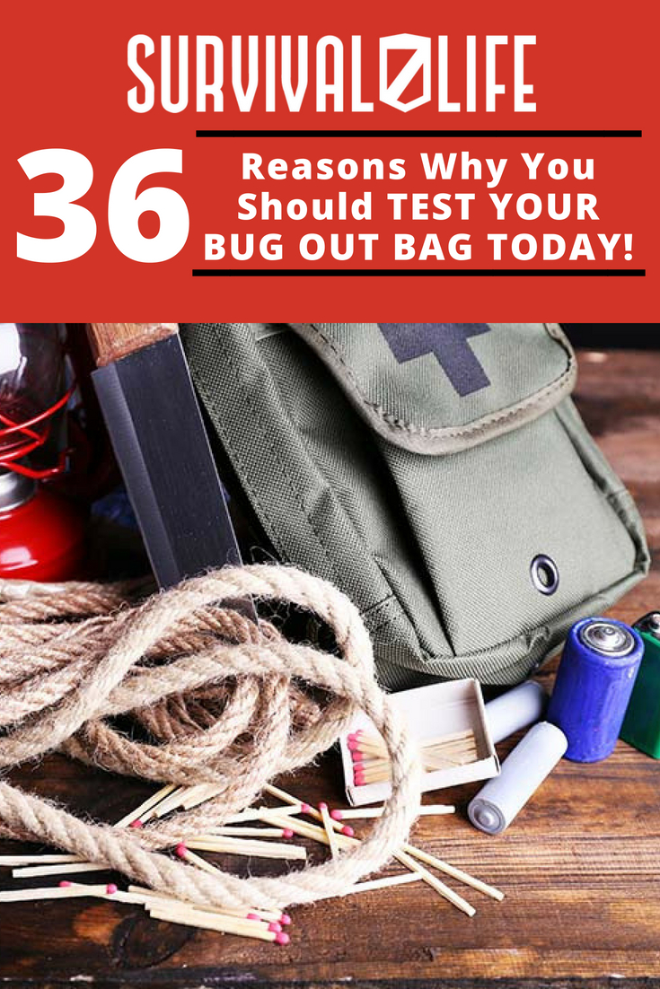 Check out 36 Reasons Why You Should Test Your Bug Out Bag Today! at https://survivallife.com/reason-why-should-test-your-bug-out-bag/
