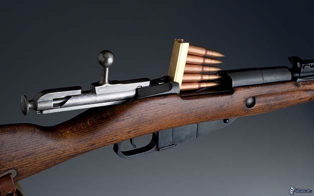 The Mossin Nagant M44.