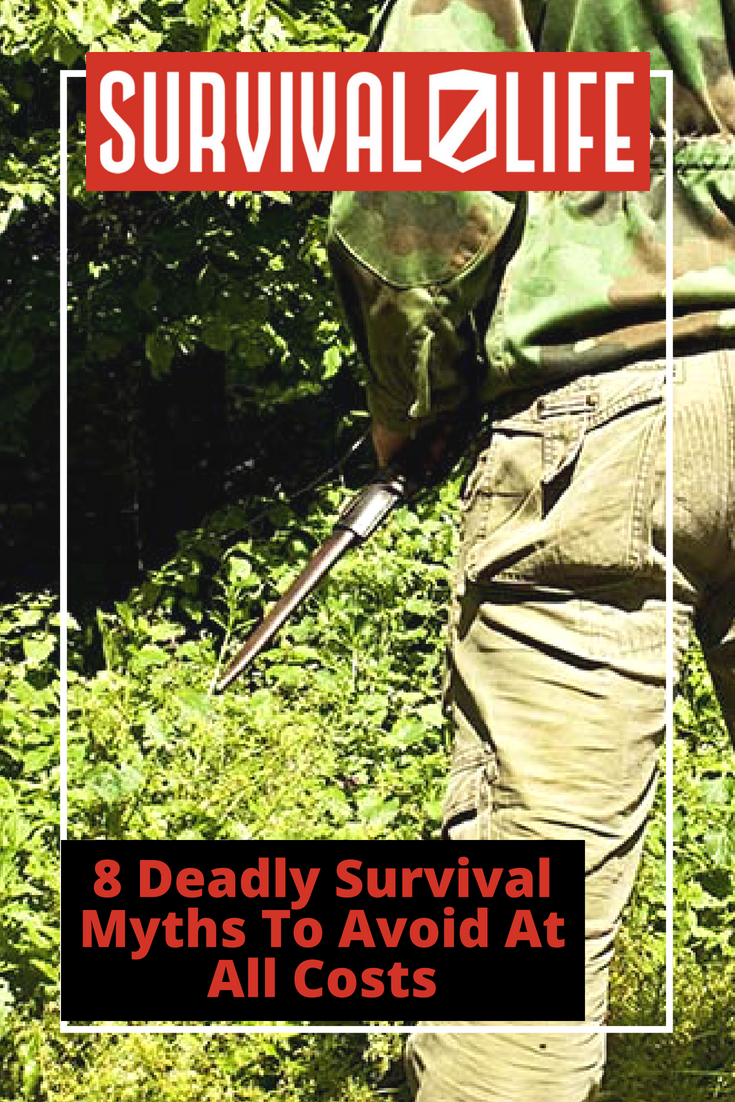Placard | Deadly Survival Myths To Avoid At All Costs | Survival Myth