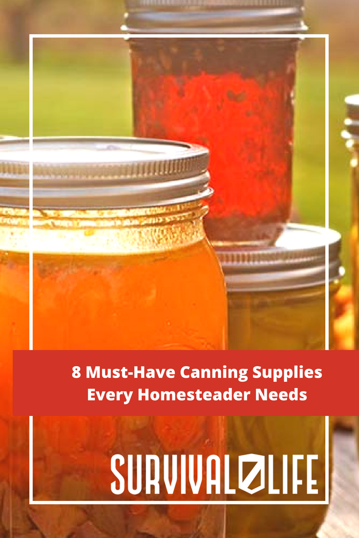 Check out 8 Must-Have Canning Supplies Every Homesteader Needs at https://survivallife.com/8-canning-supplies/