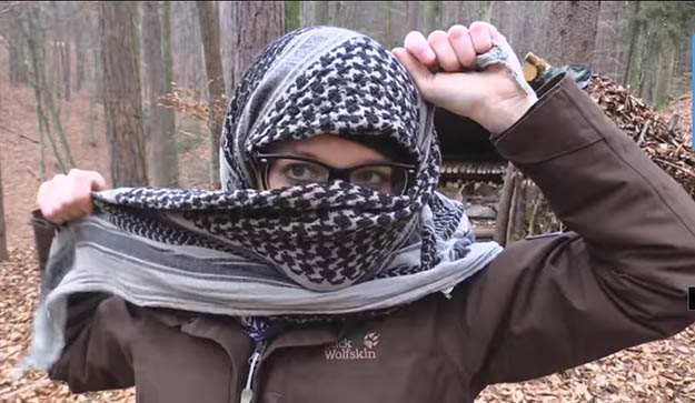 Survival Use for a Shemagh   29 YouTube Survival Skills Videos That You Can Learn At Home