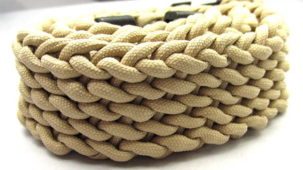 How to make a Paracord Belt   29 YouTube Survival Skills Videos That You Can Learn At Home
