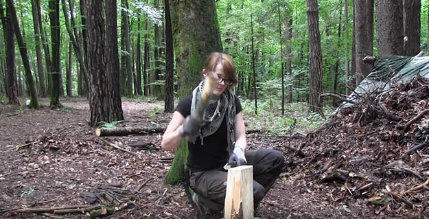 How to Split Wood of any Size with Ease | 29 YouTube Survival Skills Videos That You Can Learn At Home