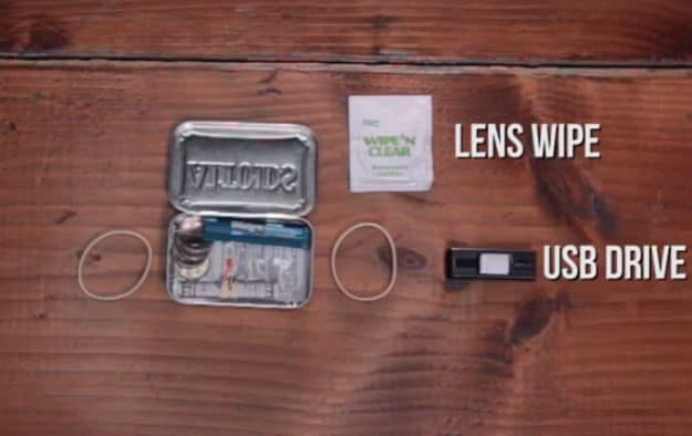 USB flash drive | Make Your Own Altoids Urban Survival Kit