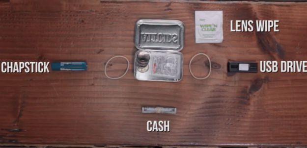 Cash | Make Your Own Altoids Urban Survival Kit