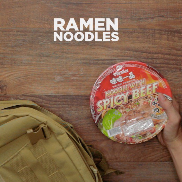 Survival Foods That Will Save You in a Disaster Ramen Noodles