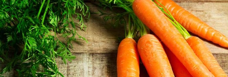 Carrots on wooden table | Grow Your Garden All Year Long With An Indoor Garden