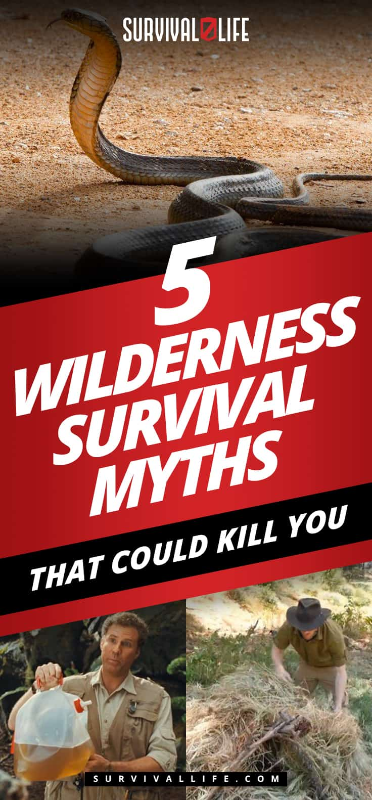 Placard | Wilderness Survival Myths That Could Kill You