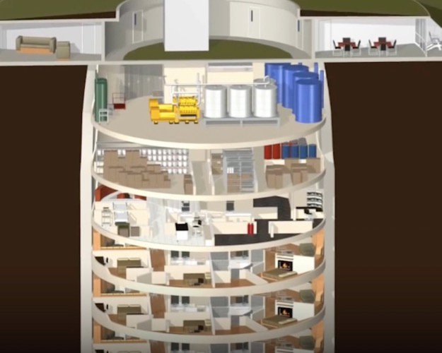 Doomsday Bunkers are Redefining Luxury Missile Silo