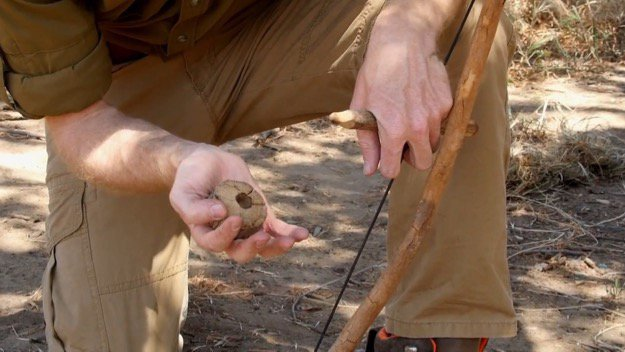How to Start a Friction Fire Step Three