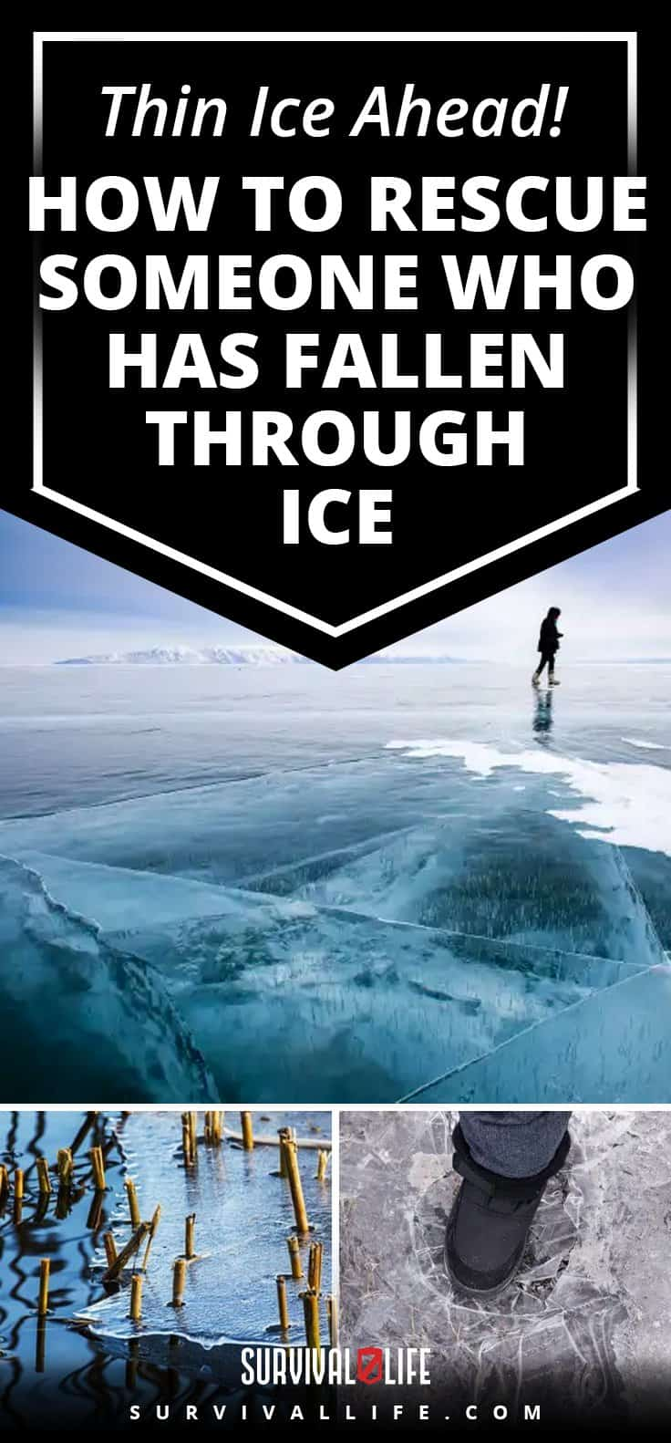 Thin Ice Ahead! How To Rescue Someone Who Has Fallen Through Ice