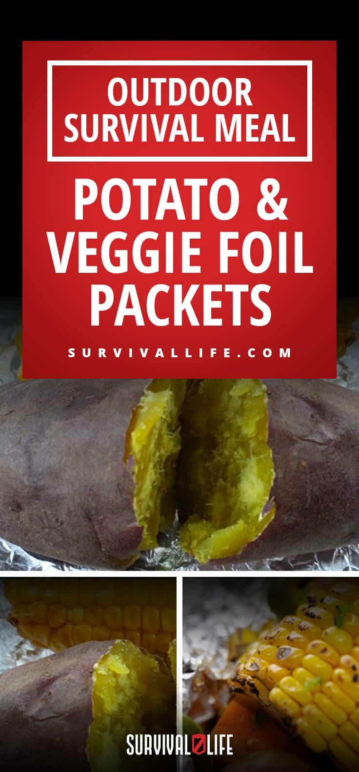 Outdoor Survival Meal: Potato & Veggie Foil Packets