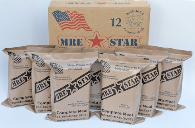 MRE Star With Flameless Heaters | A Black Friday Wishlist For The Best Survival Gear