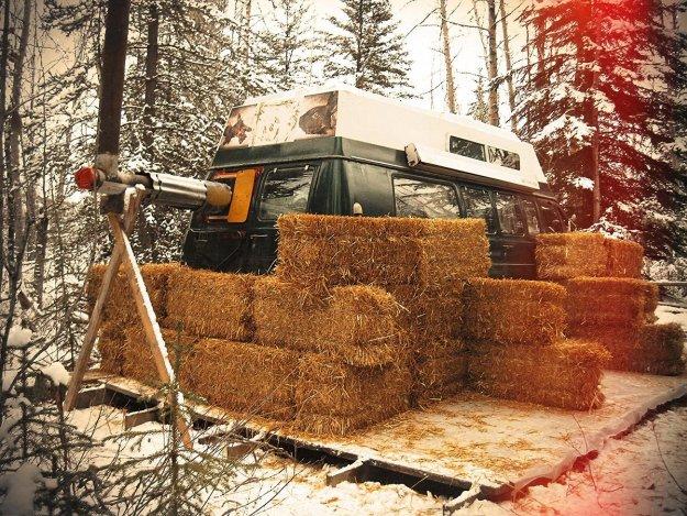 Insulating the Van   Man Survives Yukon Winter in Camper Van