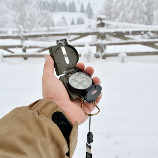 compass-in-winter Camping Checklist: Tips for a Safe Fall and Winter Camping Trip