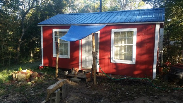 outside-full-view-of-james-tiny-home 7 Reasons Why A Tiny House For Survival Is A Great Idea