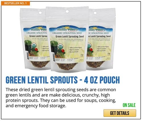 GREEN LENTIL SPROUTS | Gardening Tips and Tricks You Can Use Right Now!