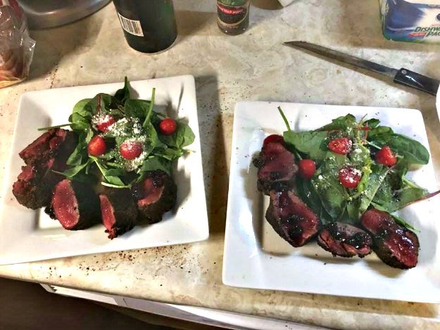 Coffee Rubbed Venison Tenderloin