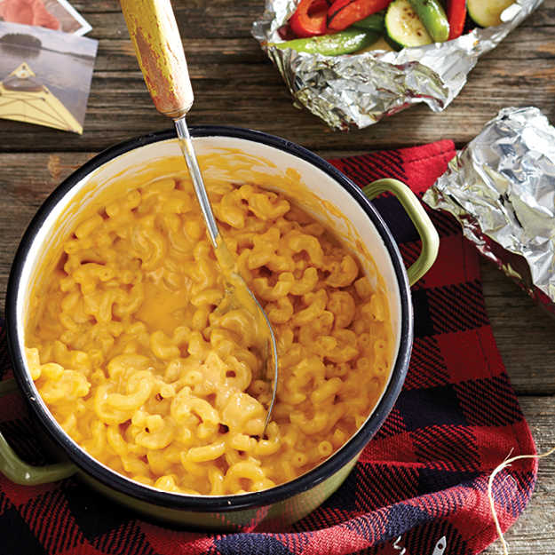 Easy Mac or Ramen | Practical (Yet Delicious) Winter Campfire Cooking Ideas For Outdoor Cooking