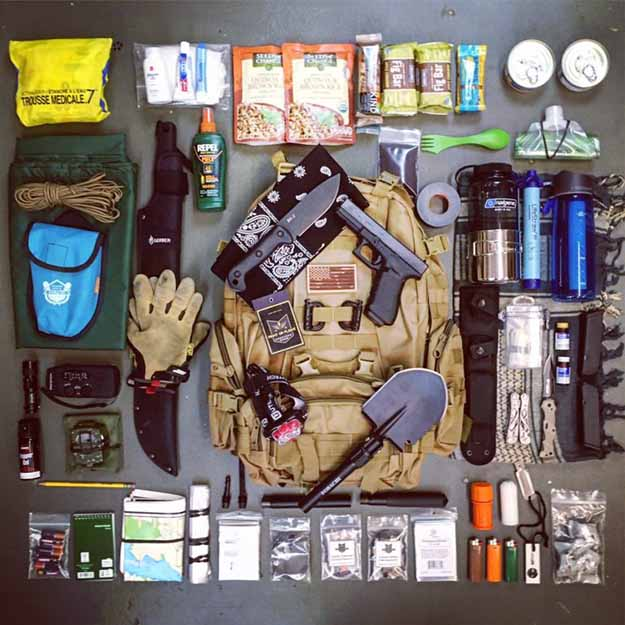 Prepare an Emergency Kit or Bug Out Bag | Zombie Outbreak Survival Tips For The Unprepared
