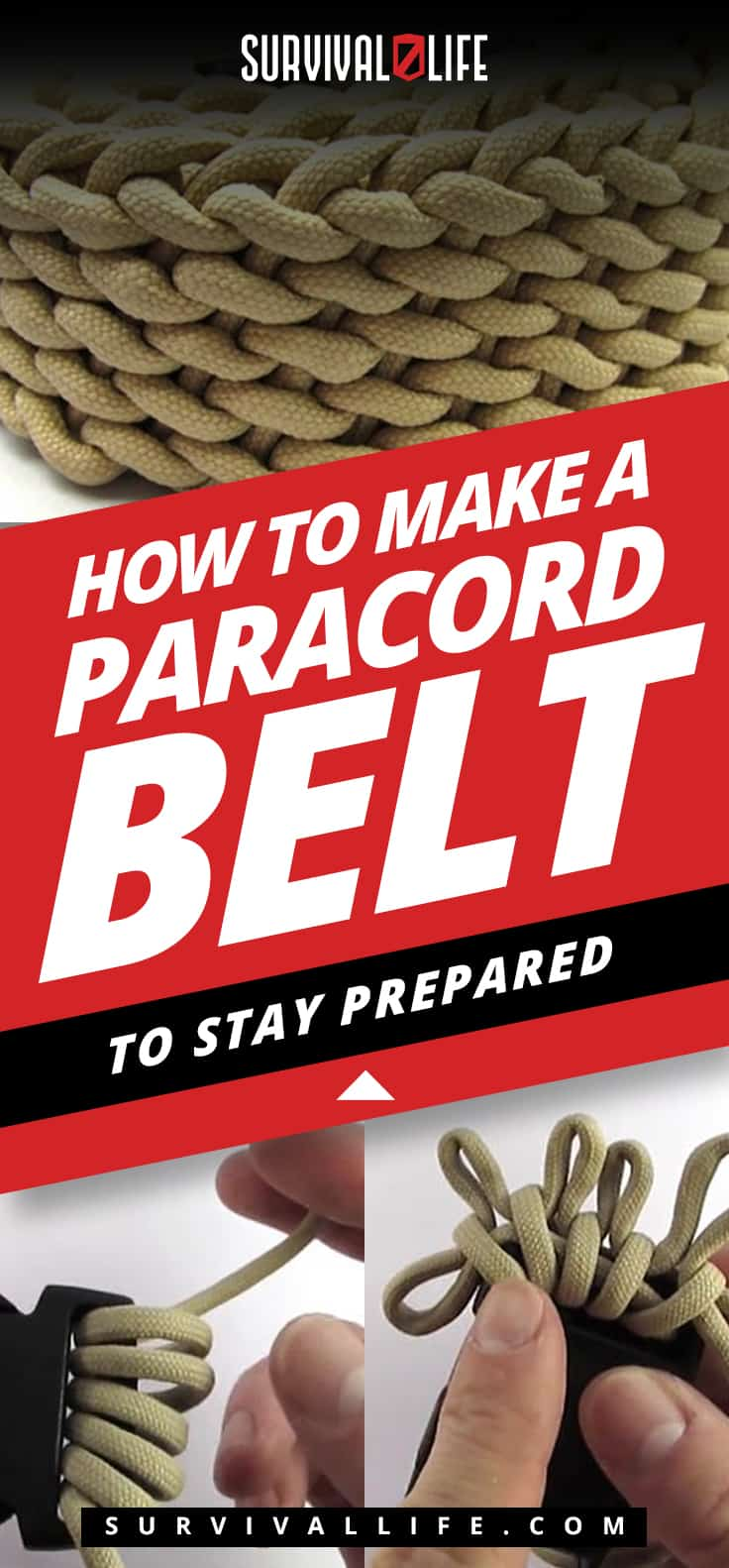 Placard | diy paracord belt
